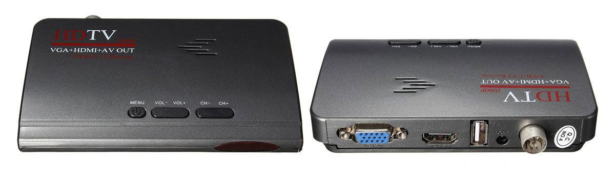 Тюнер DVD-T2 с выходом VGA