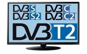 Телевизор со встроенным цифровым ТВ-тюнером