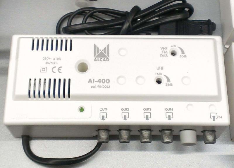 Антенный усилитель ALCAD AL-400