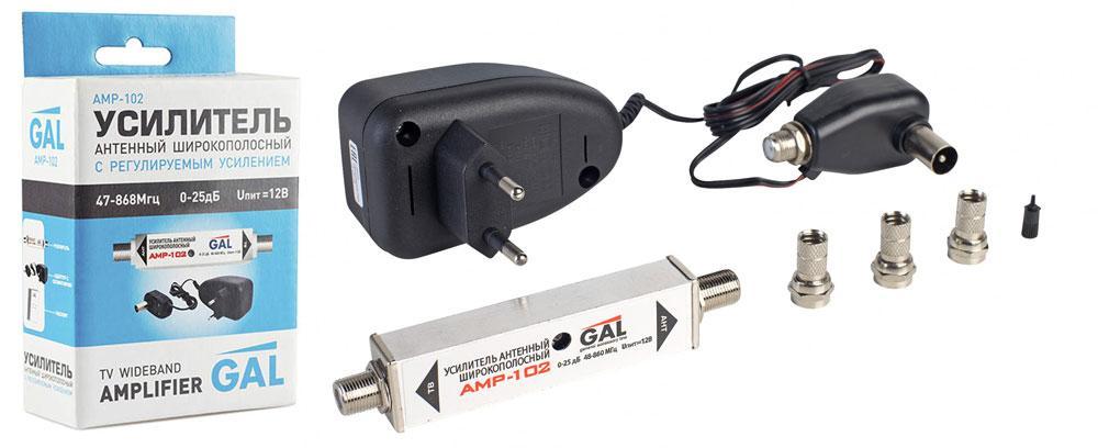 Антенный усилитель Gal AMP-102