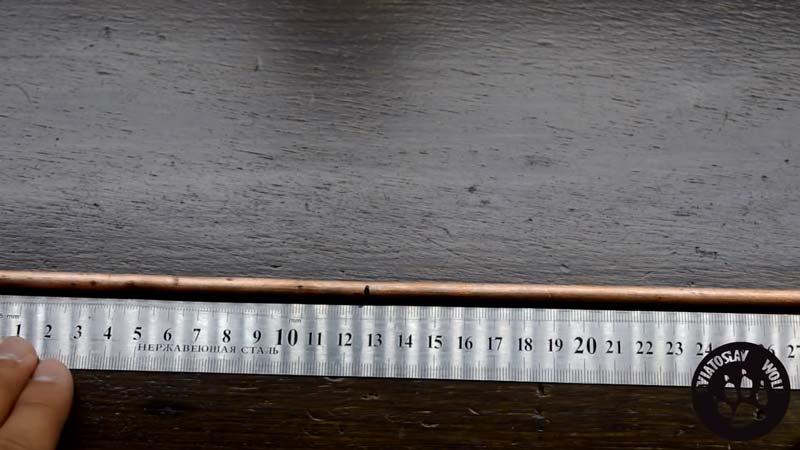 Изготовление антенны Харченко - шаг 1